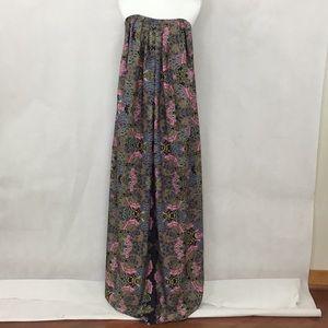 NWT LAVENDER BROWN Sleeveless Maxi Dress
